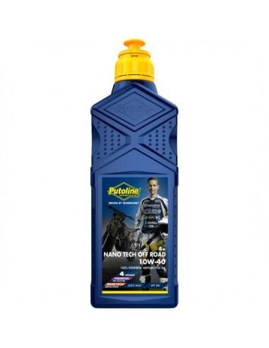 Botella Putoline Off Road Nano Tech 4  10W-40 12x1 lt