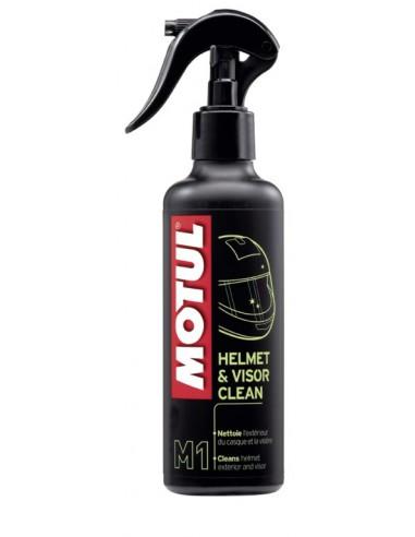 SPRAY MOTUL M1 HELMET AND VISOR CLEAN 0,250 ML