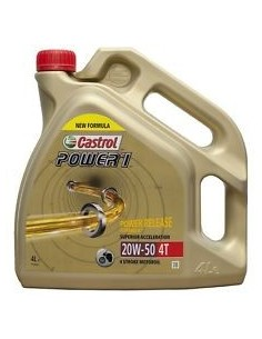 LATA CASTROL POWER 1 4T 20W50 4L