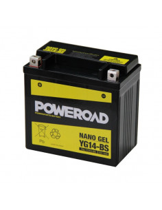 BATERIA POWEROAD YUMICRON (ACIDO INCLUIDO) YB10L-BP