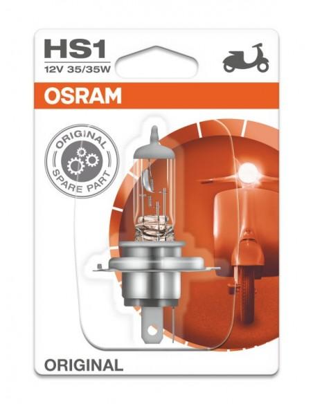 LAMPARA OSRAM HS1 12V 35/35W PX43T (RECAMBIO ORIGINAL)