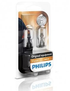 LAMPARA PHILIPS W16S 12v 16W (CUÑA)