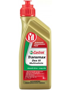 BOTELLA CASTROL TRANSMAX DEX III MULTIVEHICLE 1L