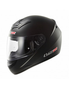 CASCO LS2 FF352 ROOKIE SINGLE MONO NEGRO MATE