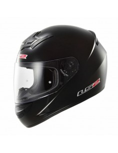 CASCO LS2 FF352 ROOKIE SINGLE MONO NEGRO BRILLO