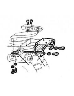 FIJACION SHAD TOP MASTER F650GS/ DAKAR BMW (97-03)