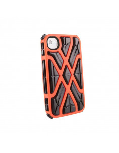 FUNDA G-FORM IPHONE X-PROTECT NEGRO/NARANJA