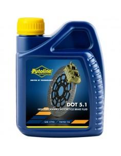 Botella Putoline Brakefluid DOT 5.1 12x0,5 lt