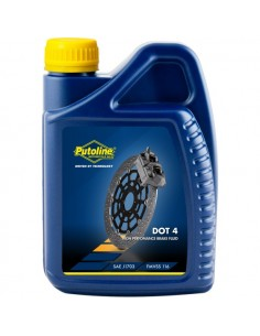 Botella Putoline Brakefluid DOT 4  12x1 lt