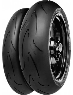CUBIERTA CONTINENTAL 190/55 ZR17 M/C 75W TL R CONTIRACE ATTACK COMP.END.DOT 2016