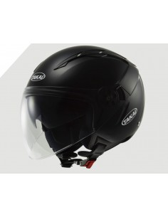 CASCO TAKAI OF540 SINGLE MONO NEGRO BRILLO