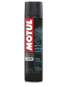 SPRAY MOTUL E11 MATTE SURFACE CLEAN 400 ML
