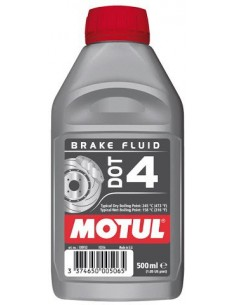 TUBO MOTUL DOT 4 BRAKE FLUID 400 ML