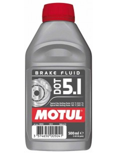 TUBO MOTUL DOT 5.1 BRAKE FLUID 0,400 ML