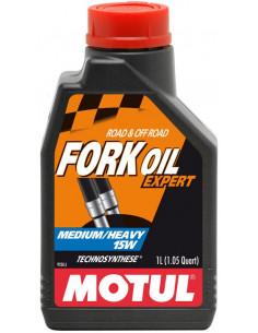 BOTELLA MOTUL FORK OIL EXPERT MED/HEAVY 15W 1L