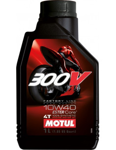 BOTELLA MOTUL 300V FL ROAD RACING 10W40 1L