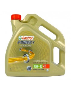LATA CASTROL POWER 1 RACING 4T 10W40 4X4L