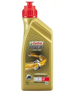 BOTELLA CASTROL POWER 1 RACING 4T 5W-40 12X1L