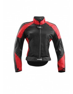 CHAQUETA ACERBIS RAMSEY MY VENTED MUJER ROJO T-S