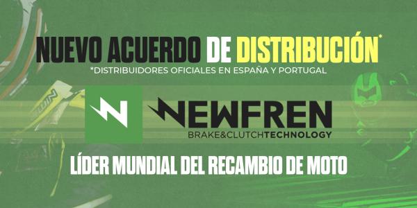 NUEVO ACUERDO DE DISTRIBUCION DE PRODUCTOS NEWFREN